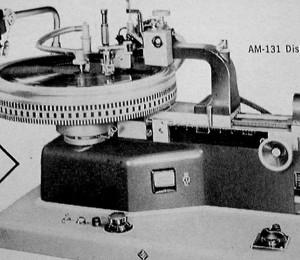Neuman AM-131 Record Disc Recording Lathe