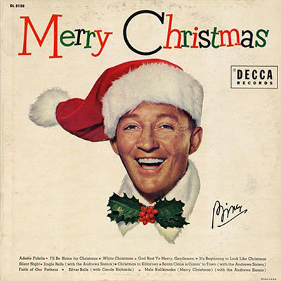 bing crosby merry christmas decca records 1955