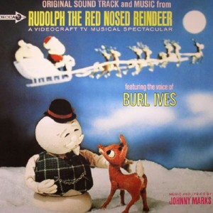 Original Sound Track and Music from Rudolph The Red Nosed Reindeer featuring the voice of Burl Ives - Decca Records, 1964