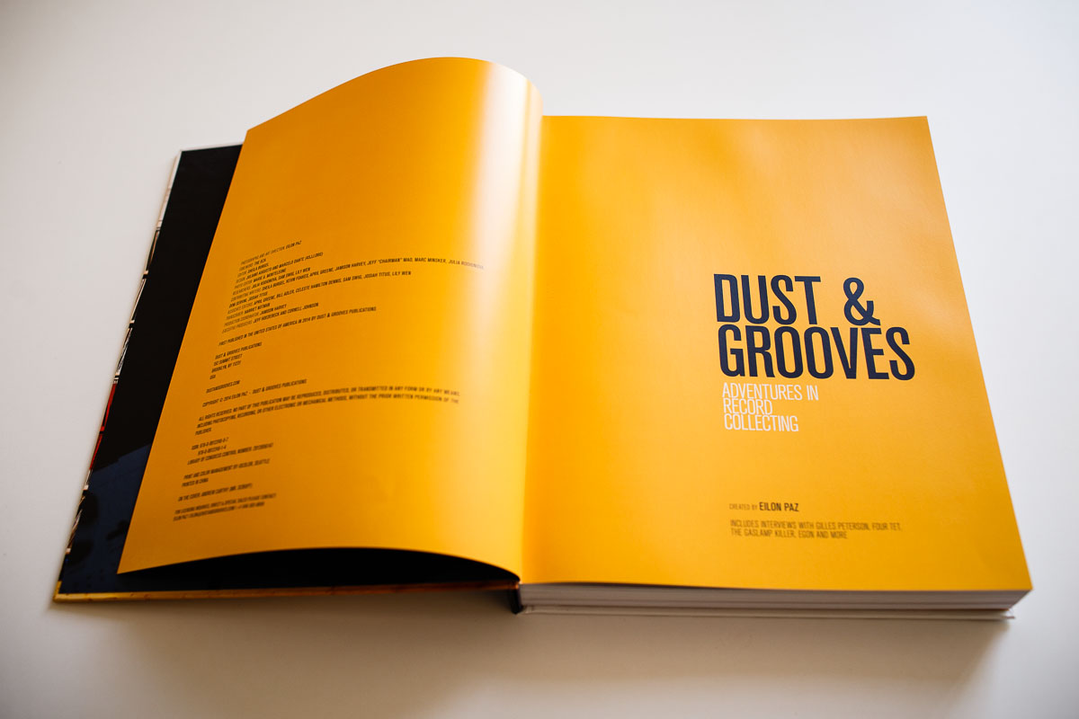 Dust & Grooves Interior