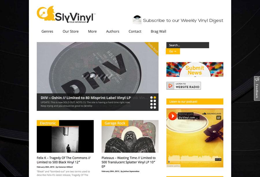 Sly Vinyl