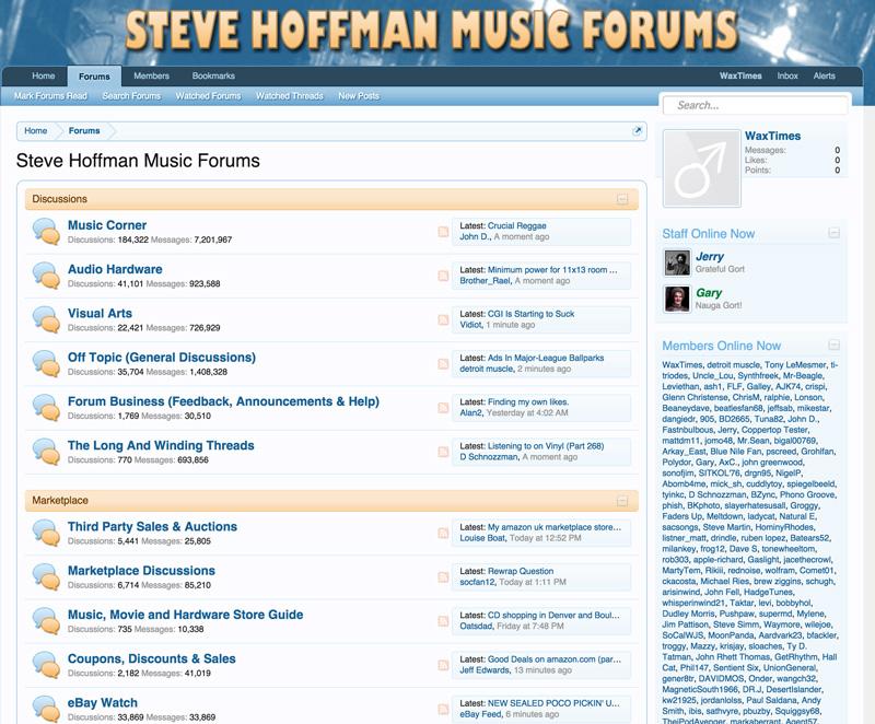 Steve Hoffman Forum's